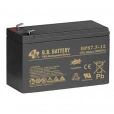Аккумулятор BB Battery BPS7,5-12