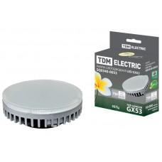 Светодиодная лампа GX53-9 Вт-3000 К TDM ELECTRIC