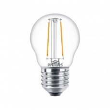 Светодиодная лампа LEDClassic 2-25W P45 E27 WW CL ND APR Philips
