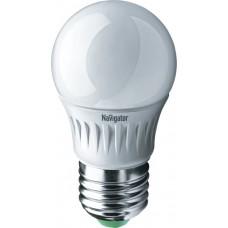 Светодиодная лампа NLL-G45-7-230-6.5K-E27 Navigator