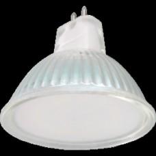 Светодиодная лампа Ecola Light MR16 LED 5,0W 220V GU5.3 4200K матовое стекло (композит) 48x50