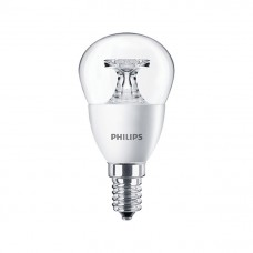 Светодиодная лампа Corepro lustre ND 5.5-40W E14 840 P45 CL Philips