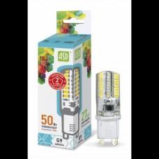 Светодиодная лампа LED-JCD-standard 5Вт 230В G9 3000К 450Лм ASD