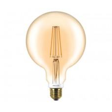Светодиодная лампа LEDClassic 7-60W G120 E27 2000K GOLD APR Philips
