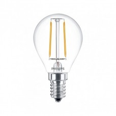 Светодиодная лампа LEDClassic 2-25W P45 E14 WW CL ND APR Philips