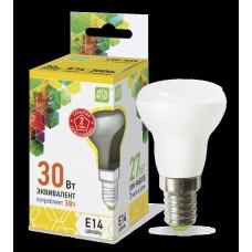 Светодиодная лампа LED-R39-standard 3Вт 230В Е14 3000К 270Лм ASD ASD