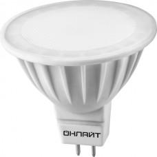 Светодиодная лампа OLL-MR16-7-230-6.5K-GU5.3 ОНЛАЙТ