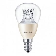 Светодиодная лампа MAS LEDlustre DT 4-25W E14 P48 CL Philips