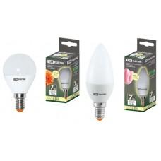 Светодиодная лампа FG45-7 Вт-230 В-3000 К–E27 TDM