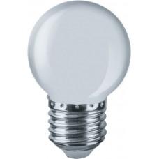 Светодиодная лампа NLL-G45-1-230-W-E27 Navigator