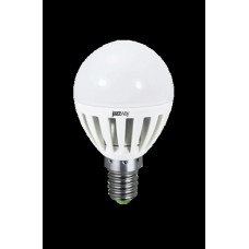 Светодиодная лампа PLED- ECO-G45 5w E14 3000K 400Lm 230V/50Hz Jazzway
