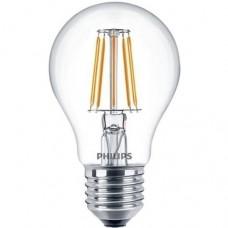 Светодиодная лампа LEDClassic 7.5-70W A60 E27 WW CL D 1CT A (димм.) Philips