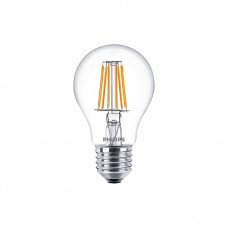 Светодиодная лампа LEDClassic 6-70W A60 E27 WW CL ND APR Philips