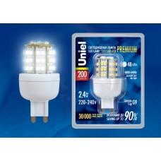 Светодиодная лампа LED-JCD-2.4/DW/G9 Uniel