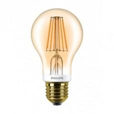 Светодиодная лампа LEDCla 7.5-60W A60 E27 2000K GOLD APR Philips