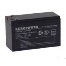Аккумулятор Europower EP 7-12