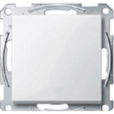 1 клавишн пер-ль без рамки, M-TREND,бел Schneider Electric