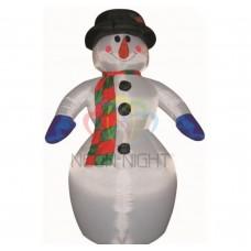 """3D фигура надувная """"Снеговик"""", размер 6 м, компрессор 160 Вт с адаптером 12В, IP 44 (ISN050600) NEON-NIGHT"""