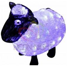 Акриловая светодиодная фигура NEON-NIGHT Овца 30см, 56 светодиодов, IP65, 24В, 513-401