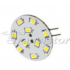 Светодиодная лампа AR-G4-10E30-12V Warm White Arlight