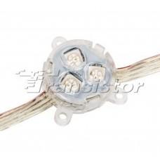 ARL-D30-5050x3-DMX RGB 12V Прозрачный модуль герметичный Arlight