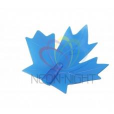 CC-1 колпачек кленовый лист NEON-NIGHT (для дюраплей) синий CC-1-11