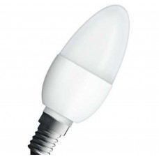 Светодиодная лампа LED STAR CL B40 5,5W/827 230-240V E14 104x38mm Osram