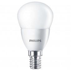 Светодиодная лампа CorePro lustre ND 5.5-40W E14 827 P45 FR Philips