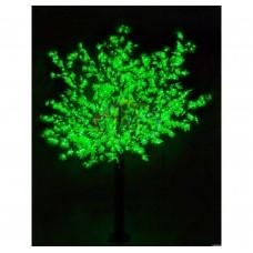 Дерево САКУРА NEON-NIGHT (CBL-03 ( А ) D=3.0m, H=3.6m), 6921 диодов, ЗЕЛЁНАЯ 531-234