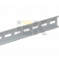 DIN-рейка ИЭК (125см) оцинкованная YDN10-0125