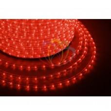 Дюралайт светодиодный NEON-NIGHT красный, 220В, диаметр 13 мм, бухта 100м 121-252