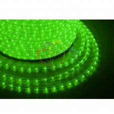 Дюралайт светодиодный NEON-NIGHT зеленый, 220В, диаметр 13 мм, бухта 100м 121-254