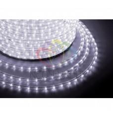 Дюралайт светодиодный NEON-NIGHT белый, 220В, диаметр 13 мм, бухта 100м 121-125