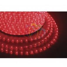 Дюралайт светодиодный, пост.свеч., красный, 220В, бухта 100м NEON-NIGHT