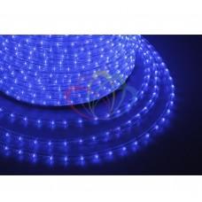 Дюралайт светодиодный, пост.свеч., синий, 220В, бухта 100м NEON-NIGHT