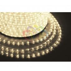 Дюралайт светодиодный NEON-NIGHT тепло-белый, 220В, диаметр 13 мм, бухта 100м 121-126