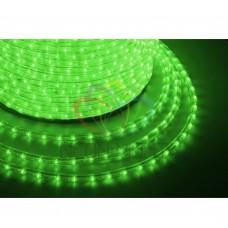 Дюралайт светодиодный NEON-NIGHT зеленый, 220В, диаметр 13 мм, бухта 100м 121-124