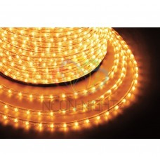 Дюралайт светодиодный NEON-NIGHT желтый, 220В, диаметр 13 мм, бухта 100м 121-121
