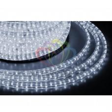 Дюралайт светодиодный, свеч.с динамикой, 11х18 мм, белый (модуль 2м.) NEON-NIGHT