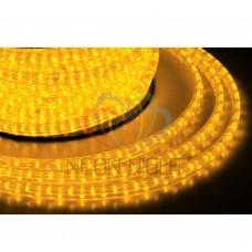 Дюралайт светодиодный, свеч.с динамикой, 11х18 мм., жёлтый (модуль 3м.) NEON-NIGHT