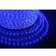 Дюралайт светодиодный NEON-NIGHT свечение с динамикой, синий, 220В, диаметр 13 мм, бухта 100м 121-323