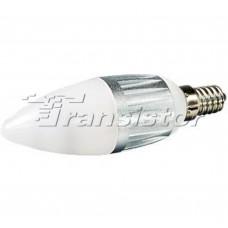 Светодиодная лампа Arlight E14 4W Candle-BS35D Day White