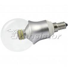Светодиодная лампа Arlight E14 CR-DP-G60 6W Day White