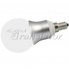 Светодиодная лампа Arlight E14 CR-DP-G60M 6W Day White