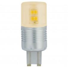 Светодиодная лампа Ecola G9 LED Premium 4,1W Corn Mini 220V золотистый 300° (алюминесцентная радиатор) 65x23