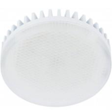 Светодиодная лампа Ecola Light GX53 LED 11,5W Tablet 220V 2800K 27x75 матовое стекло (ребристый алюминесцентная радиатор) 30000h