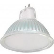 Светодиодная лампа Light MR16 LED 5,0W 220V GU5,3 4200K матоваястекло 48x50 Ecola