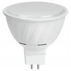 Светодиодная лампа Ecola MR16 LED 10,0W 220V GU5.3 2800K матовое стекло (композит) 51x50
