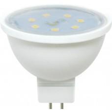 Светодиодная лампа Ecola MR16 LED 7,0W 220V GU5.3 2800K прозрачное стекло (композит) 48x50 лампа