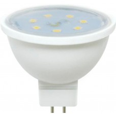 Светодиодная лампа Ecola MR16 LED 7,0W 220V GU5.3 4200K прозрачное стекло (композит) 48x50 лампа